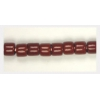 Glass Tubes 6-7mm Opaque Brown